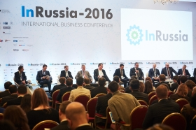 International business dialogue succeeded on InRussia