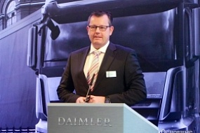Chief Operating Officer of Daimler Kamaz Rus LLC will participate in the Plenary session of InRussia-2017 Business conference